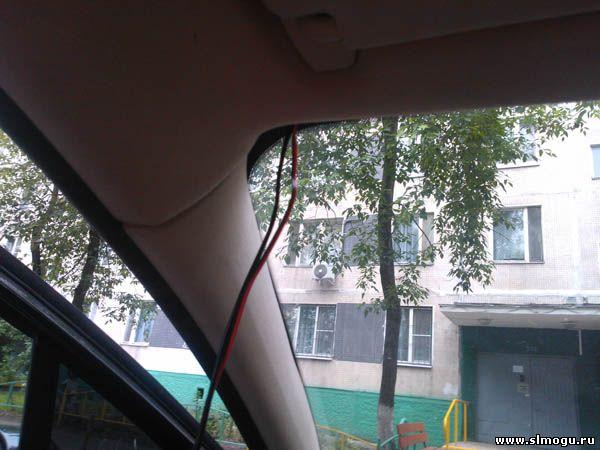 протяжка проводов по салону