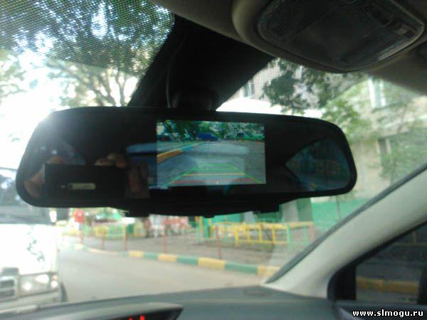 подключение видео парктроника