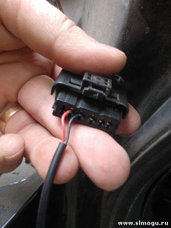 проверка подключения тока на заднем ходе в ситроене с4